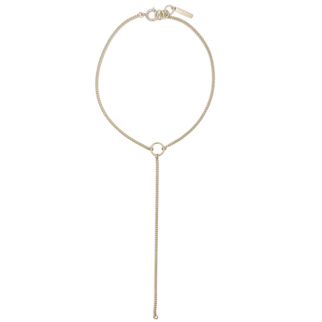 Nancy gold choker