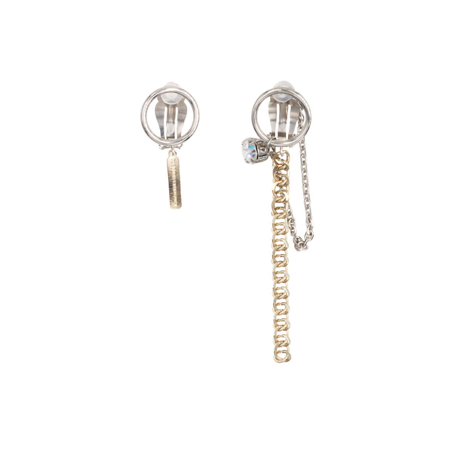 Chen clip-on earrings