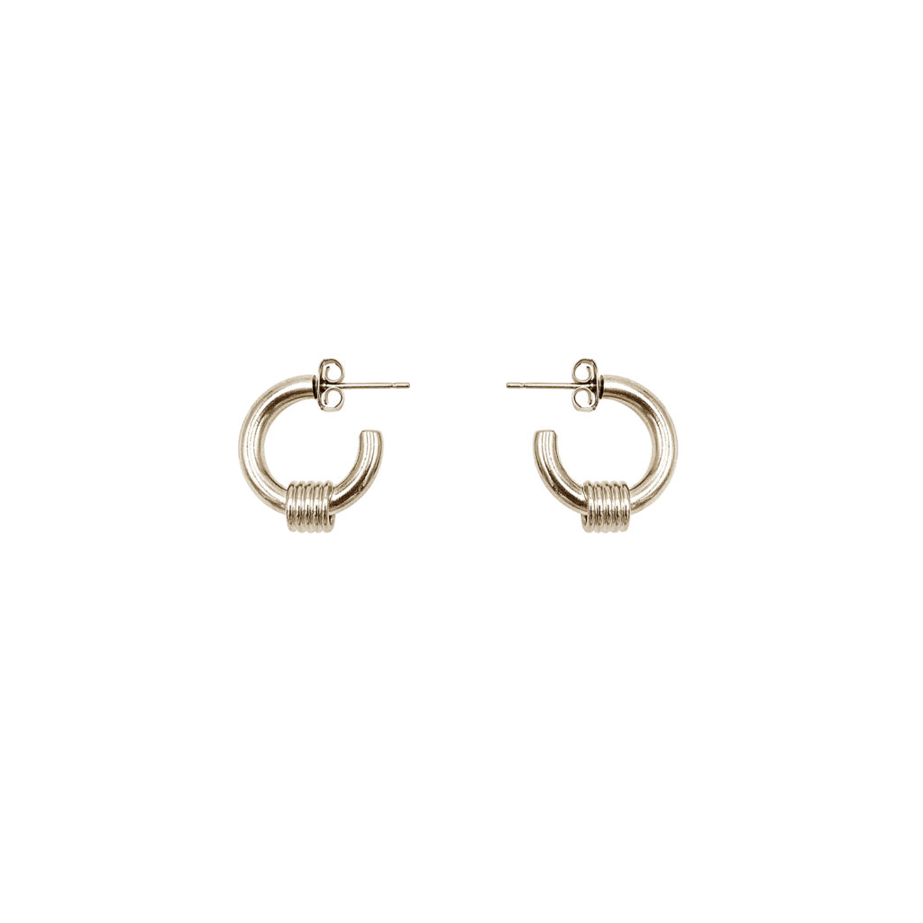 Carrie gold earrings
