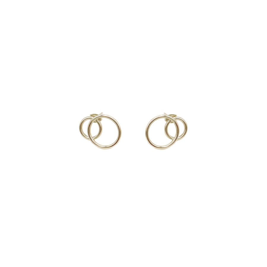 Gale gold earrings
