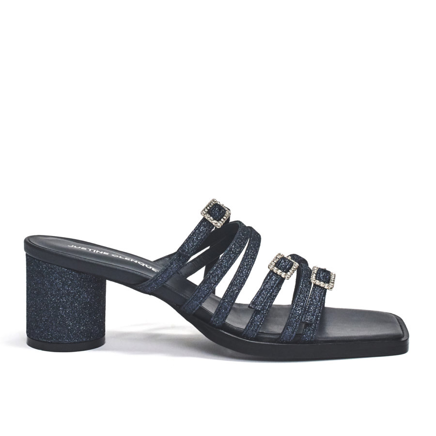 Jane dark blue sandals