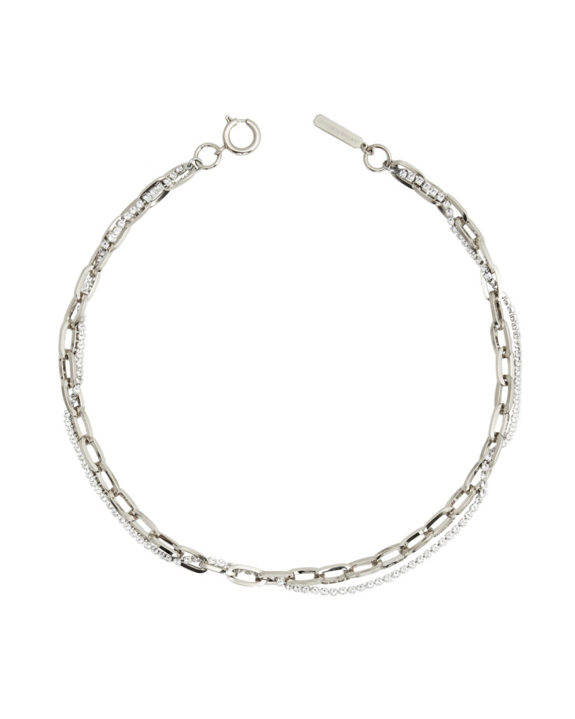 Kirsten palladium necklace